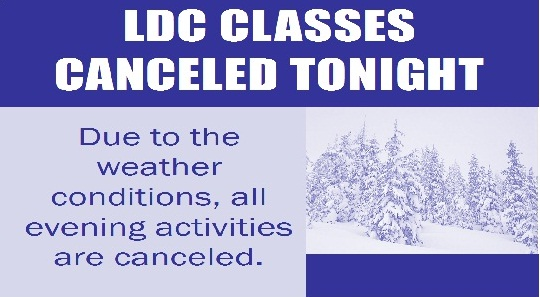 LDC Canceled for Web